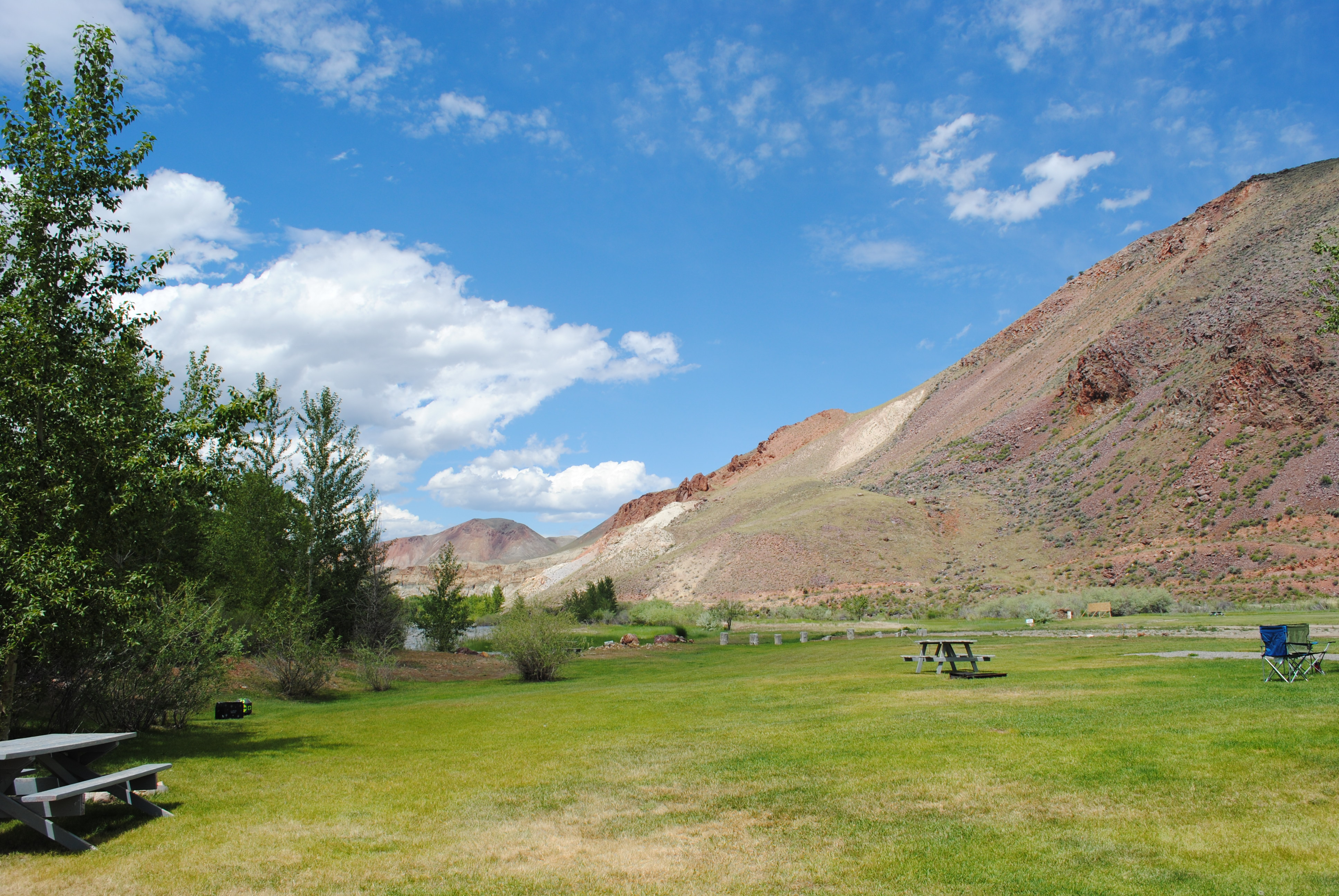 Campground | Challis Hot Springs